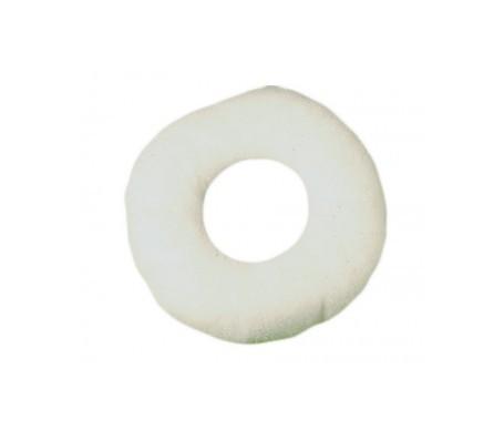 Ualf cojín con orificio piel sintética 1ud