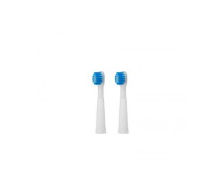 GUM® 2501 recambio cepillo Sonico eléctrico Original White 2uds