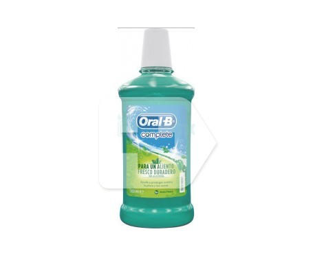 Oral-B Complete colutorio sin alcohol menta 500ml