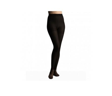Panty Viadol compresión normal Va 40 negro talla mediana negro