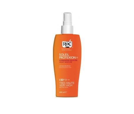 RoC® Soleil Protexion spray SPF50+ loción 200ml