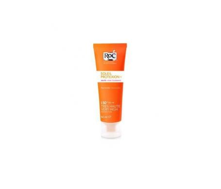 RoC® Soleil Tolerance crema SPF50+ rostro piel sensible 50ml