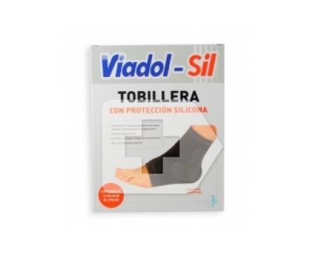 Viadol tobillera silicona T-grande 1ud