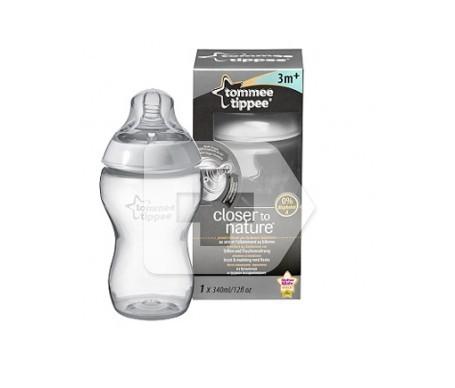Tommee Tippee biberón 0% BPA con tetina de silicona 340ml 1ud