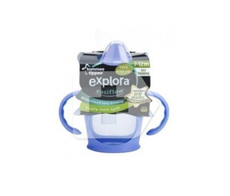 Tommee Tippee taza antigoteo 7-12 meses 1ud