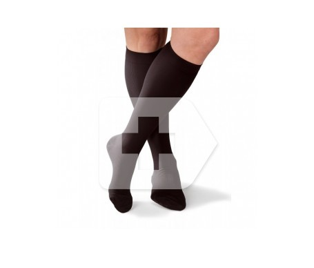 Maries calcetín de caballero color negraro mediano