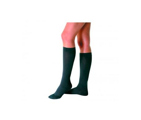 Varisan calcetín compresión normal negro talla 4