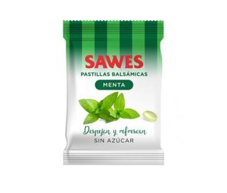 Sawes caramelos sin azúcar menta 50g
