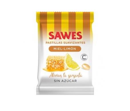 Sawes caramelos miel y limón sin azúcar 50g