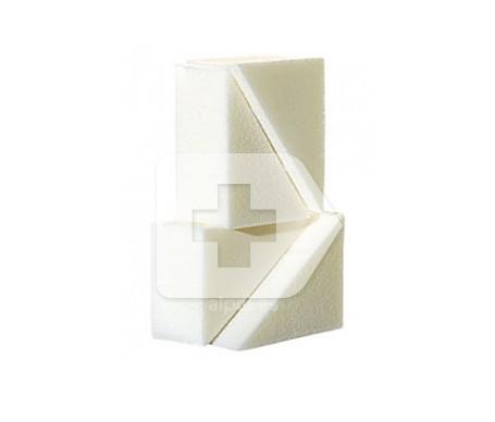 3 Claveles esponja triangular maquillaje sin látex 4uds