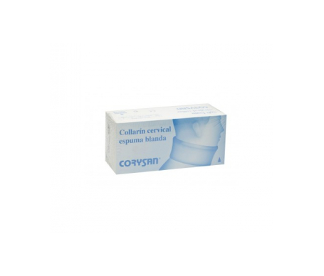 Corysan collarín cervical semi-rígido Talla 4 1ud