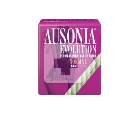 Ausonia® Evolution compresa normal 12uds