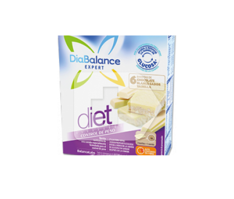 DiaBalance Expert Diet barrita chocolate blanco 6uds