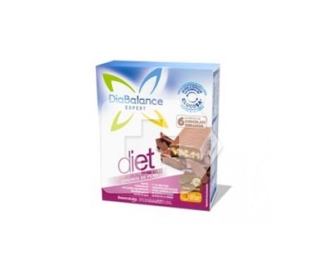 DiaBalance Expert Diet barrita chocolate con leche 6uds