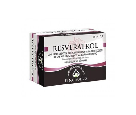 El Naturalista Resveratrol 60cáps