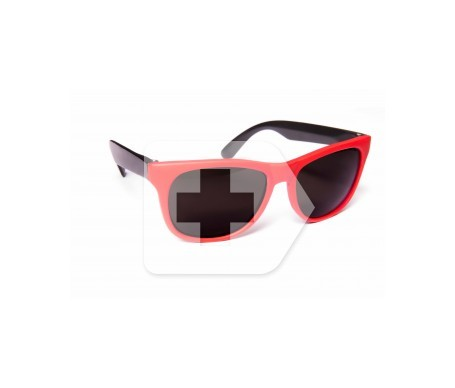 Loring Junior gafas de sol infantil color rojo 1ud