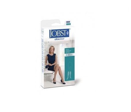 Jobst media corta (A-D) compresión normal negra talla  3