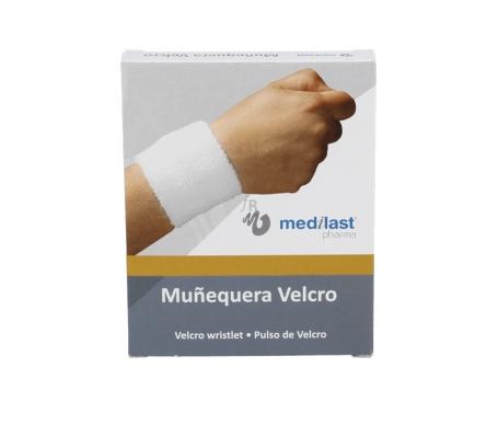 Medilast muñequera velcro beige T-M 1ud