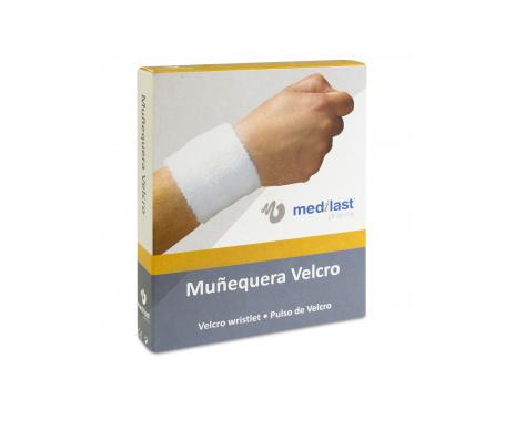Medilast muñequera velcro beige T-S 1ud