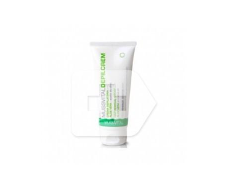 Mussvital Depilcrem piel sensible con aloe vera y aceite de oliva 100ml