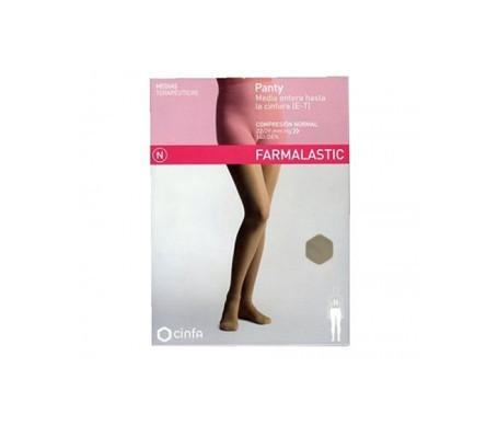 Farmalastic panty modelador (E-T) compresión normal T-extra grande beige 1ud