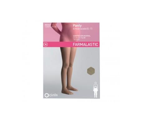 Farmalastic panty embarazada (E-T) compresión normal T-grande beige 1ud