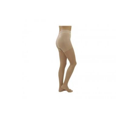Medilast panty beige compresión normal T-L 1par