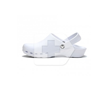 Suecos® Oden zueco blanco T 45 1 par