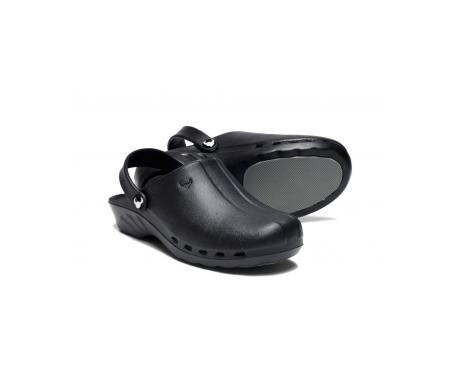 Suecos® Oden zueco negro T 37 1 par