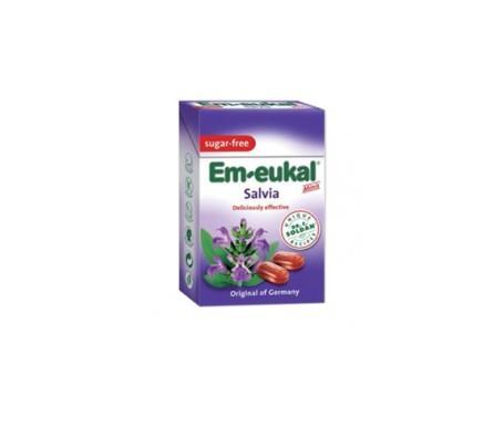 Em-eukal® caramelos salvia bote 120g