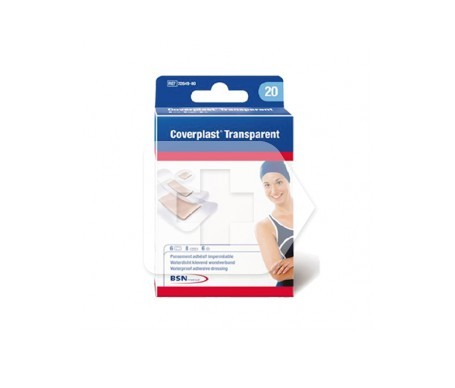 Coverplast® transparentes 19x72mm 10uds