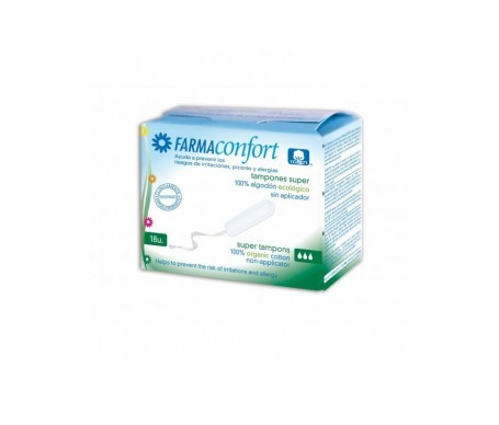 Farmaconfort Tampón Digital Súper 18uds