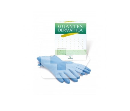 Dermathea guantes talla grande 2uds