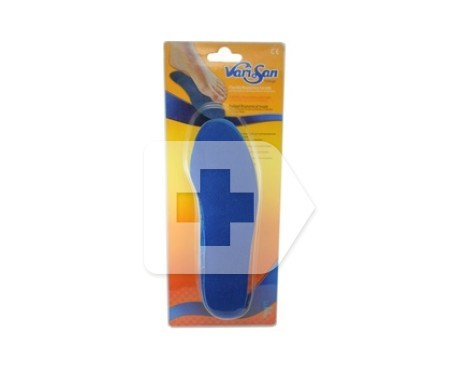 Varisan hydrogel lined insole size 5 (45/46) 2 uts