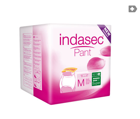 Indasec® Pant Super talla media 10uds