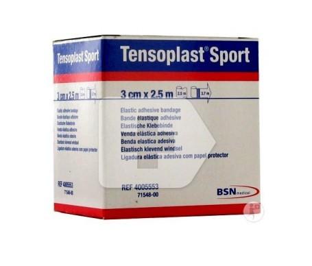 Tensoplast sport Venda Elástica Adhesiva 3CMx2,5M 1UD