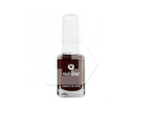 Nailine esmalte de uñas rojo negro 11ml