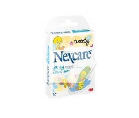Nexcare® Aqua 360º Piolín tiras infantiles 27x57mm 14uds