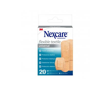 Nexcare® Textile Strips tiras adhesivas surtido 20uds