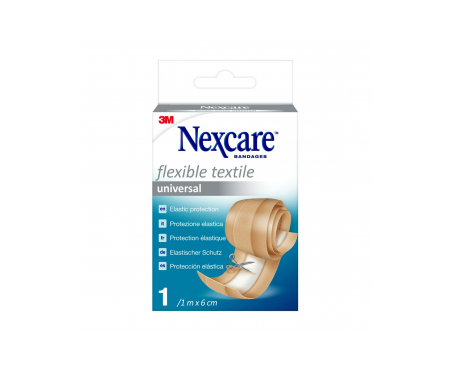 Nexcare® Textile Strips tiras adhesivas 10x6cm 5uds