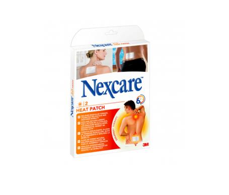 Nexcare® parche térmico 9,5x13cm 2uds