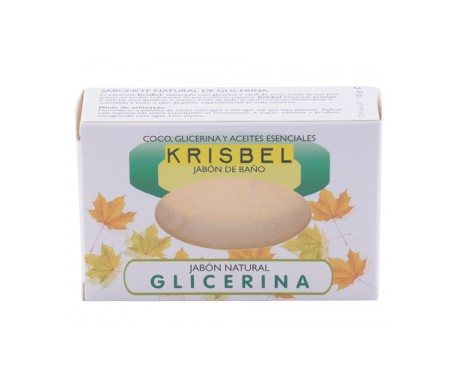 Krisbel jabón de glicerina 125g