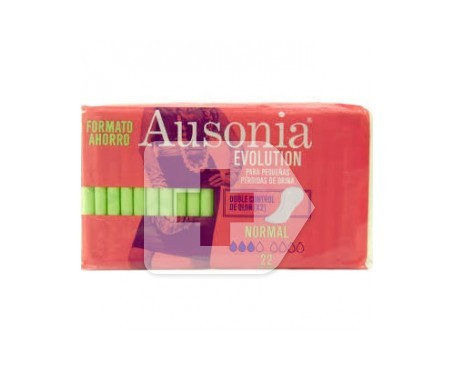 Ausonia® Evolution compresa normal 22uds