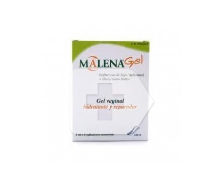 Malena gel vaginal 5ml 8 aplicadores