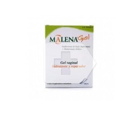 Malena gel vaginal 5ml 5ml 8 applicateurs