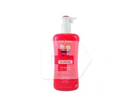 Klorane Petit Junior gel de ducha cabello y cuerpo fresa 500ml