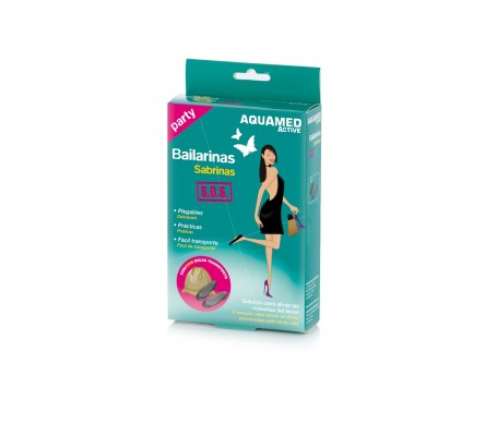 Aquamed Active bailarinas SOS T-S 2uds
