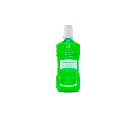 Interapothek enjuague bucal menta 500ml