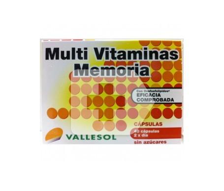 Vallesol Multi Vitamins Memory 40 capsules