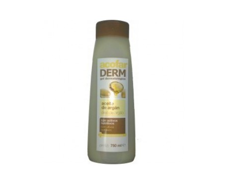 Acofarderm gel dermatológico aceite de argán 750ml